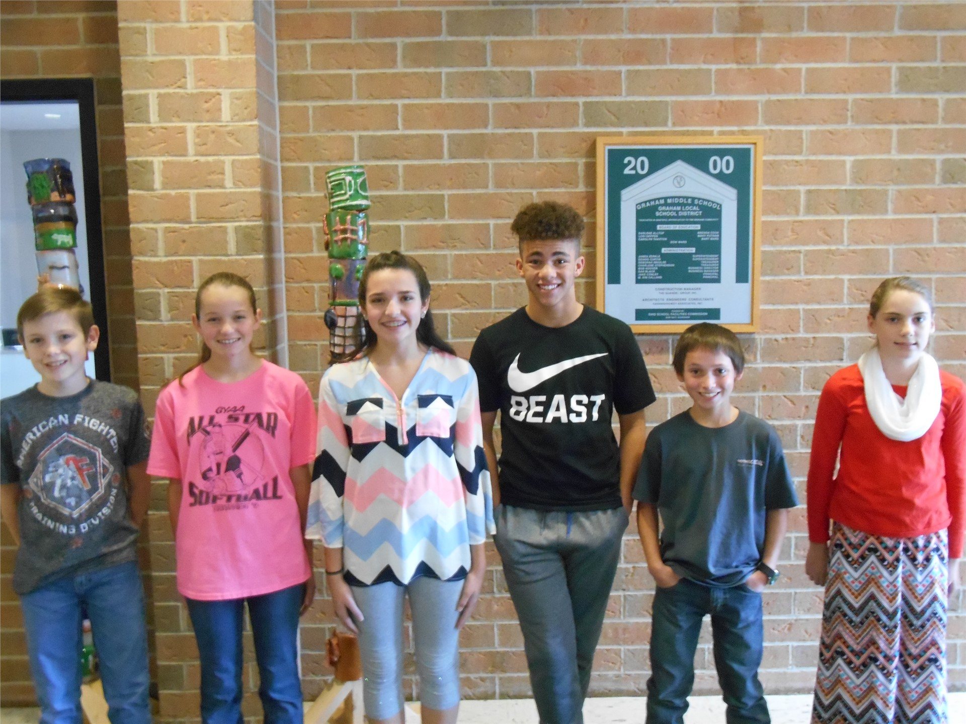 December 2016 Students of the Month