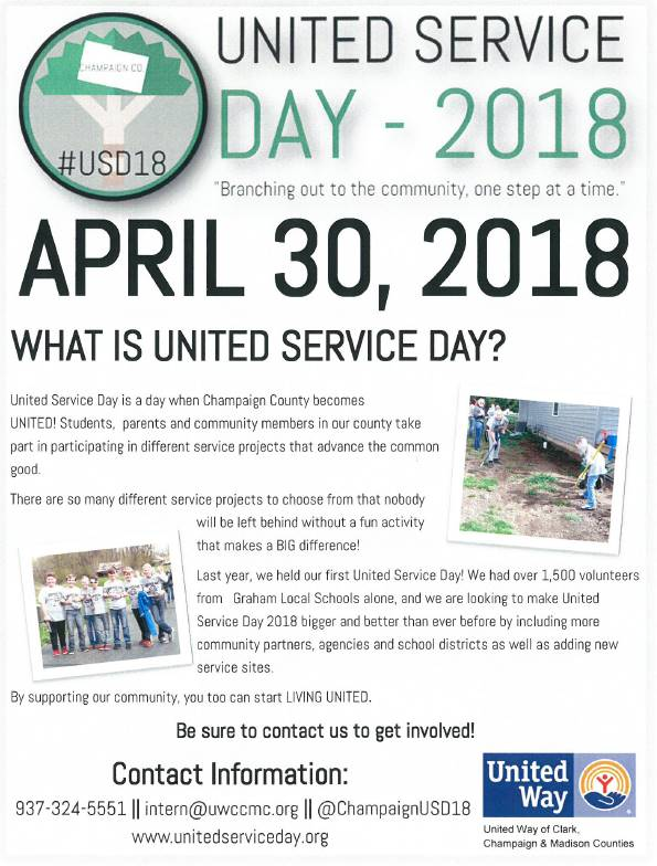 United Service Day, April 30, 2018