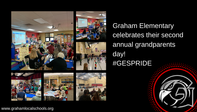 Second annual Grandparents day at GES